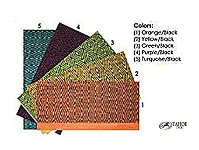 Tahoe Tack Double Weave Geometric Saddle Blanket from Derby Originals
