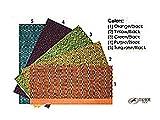 Tahoe Tack Double Weave Geometric Saddle Blanket