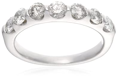 18ct White Gold AMR261050 Ladies 1.00ct Diamond Band Ring GSuMHPQEoA
