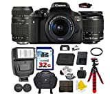 Cheap Canon EOS Rebel T6i 24.2 MP Digital SLR Camera with Canon EF-S 18-55mm IS II Lens + Tamron AF 70-300mm F/4-5.6 Di LD Macro Lens + Commander 32GB Memory Card + Commander UV Filter + Spider Tripod