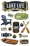 Paper House Productions STDM-0249E Lake Life Stickers, 3D (Pack of 3)