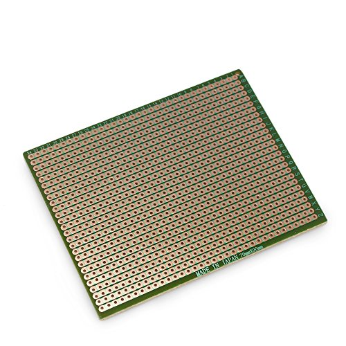 10pcs 70mm x 90mm Copper Strip Prototype Stripboard PCB Printed Circuit Board For Welding Soldering DIY