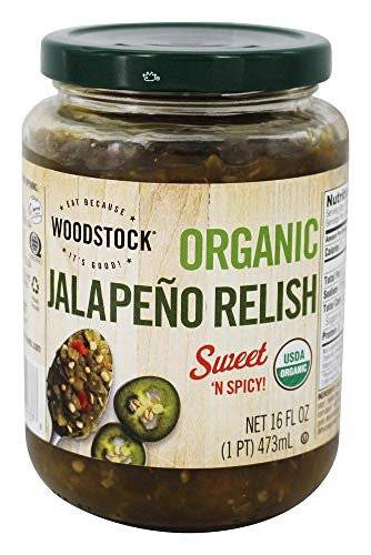 Woodstock Farms - Organic Jalapeno Relish - 16 oz.
