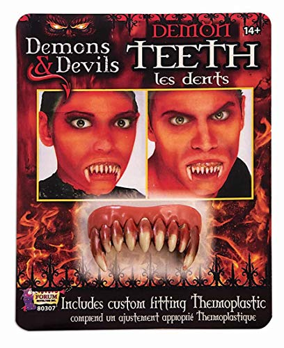 Forum Novelties Demon Teeth Accessory-, Standard