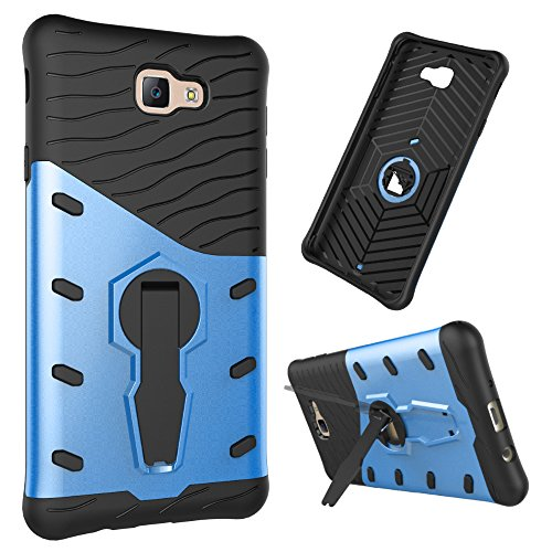 360 Degree Dual Pro Protective Case for Apple iPhone 6 Plus (Blue) - 3