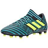 adidas Performance Men's Nemeziz 17.3 FG Soccer-Shoes, Legend Ink/Solar Yellow/Energy Blue, 8.5 Medium US