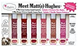 Meet Matte Hughes 6 Piece Mini Liquid Lipstick Set, Long Lasting, Lightweight, Matte Finish