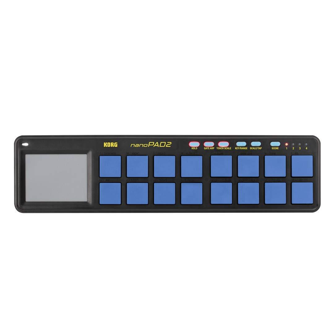 Korg NanoPAD2 - Blue Yellow Limited Edition by Korg