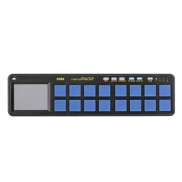 Audio/midi-controller Musikinstrumente Usb Controller Nano Pad Korg Nanopad 2 Black