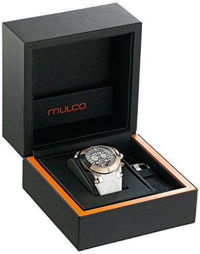 MULCO Women's MW5-3069-015 Kripton Snap Analog Display Swiss Quartz Black Watch