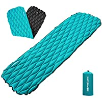 Naturalife Easy-Inflating Sleeping Pad for Camping,...