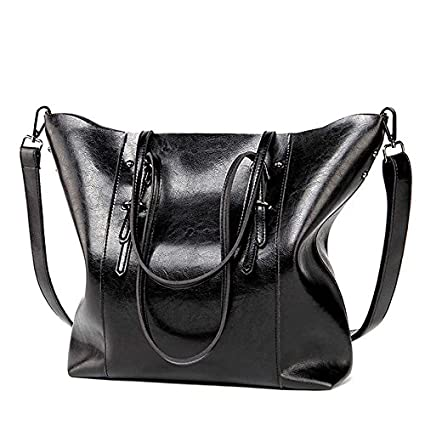 Amazon.com   2018 Hot Luxury Brand Women Shoulder Bags Big Bucket Bag Soft  Pu Leather Female Casual Tote Wild Messenger Bag Casual Ladies Handbag  (Color ... d2c233b5155bd