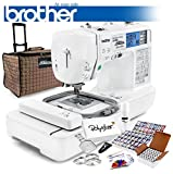 Brother PE770 Embroidery Machine (Brother LB-6800PRW w/Grand Slam Package)