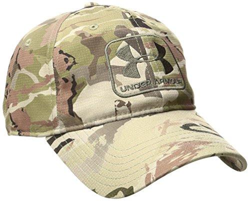 Under Armour Men s Camo Stretch Fit Cap 8dbea9c65105