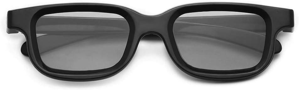 Docooler VQ163R Polarized Passive 3D Glasses para 3D TV Real 3D Cinemas para Sony Panasonic