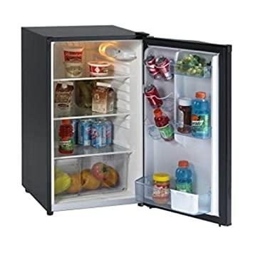 Avanti AVAAR4446B Refrigerator, Energy Star, Defrost, Glass Shelves, Compact, 4.4 cu. ft. Avanti Products