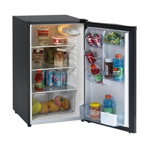 Avanti AVAAR4446B Refrigerator, Energy Star, Defrost, Glass Shelves, Compact, 4.4 cu. ft. by Avanti