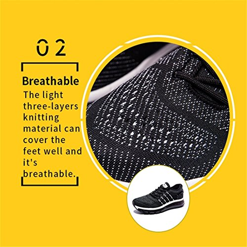 Special Air Design Breathable Sneakers Grey Cushion Mesh Tongue Lightweight Women's Onemix Running Shoes wp8qStAx
