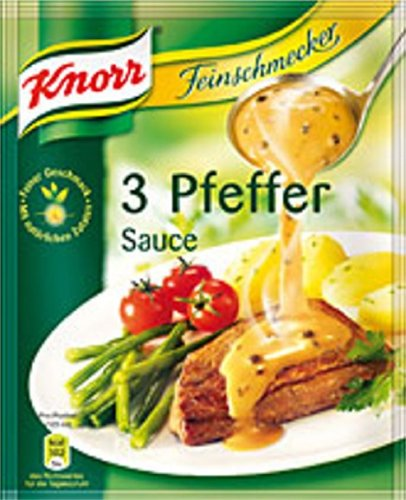 Knorr Feinschmecker 3 Pfeffer Sauce - 1 Pc (Knorr White Sauce compare prices)