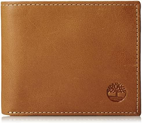 Timberland Men's Cloudy Passcase Wallet