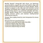 Healthy Breeds Omega HP Fish Oil Skin & Coat Supplement Soft Chews - Over 200 Breeds - Vet Recommended Formula Based on Breed - Helps Reduce Shedding 6