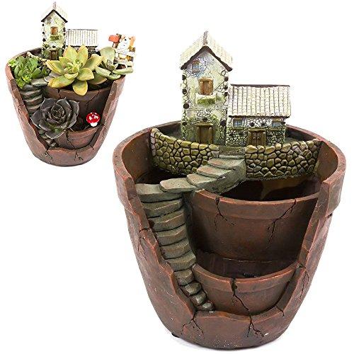 Tiny Creative Succulent Pot Planter Flower Plants DIY