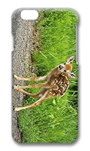 MOKSHOP Adorable deer fawn Hard Case Protective Shell Cell Phone Cover For Apple Iphone 6 Plus (5.5 Inch) - PC 3D by lolosakes