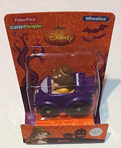 Fisher Price Little People Disney Wheelies - Belle - Halloween (Belle And The Beast Little People)
