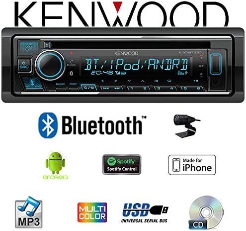 Einbauset f/ür BMW 3er E36 Spotify iPhone Bluetooth Autoradio Radio Kenwood KDC-BT530U CD//MP3//USB Einbauzubeh/ör Android JUST SOUND best choice for caraudio