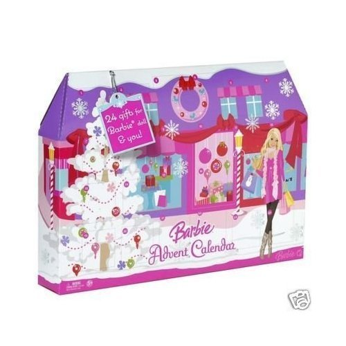 Barbie Advent Calendar Play Set - Full Dollhouse Set
