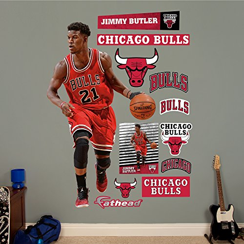 Cheap  NBA Chicago Bulls Jimmy Butler Fathead Real Big Decals, 45