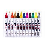 KFSO Paint Marker Pen Waterproof,Fine Paint Oil Based Art Pen,Premium Acrylic Paint Pen (Multicolor)