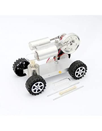 Mini caliente Creative aire Stirling Engine Motor Modelo Juguete Educativo Kits de coche mercancías