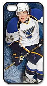 icasepersonalized Personalized Protective Case for iPhone 5 - NHL St Louis Blues #74 T.J. Oshie