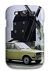 Rugged Skin Case Cover For Galaxy S3- Eco-friendly Packaging(1979 Volkswagen Derby)