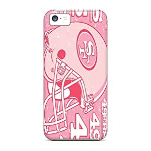 (huO2048VPHc)durable Protection Cases Covers For Iphone 5c(san Francisco 49ers) Black Friday
