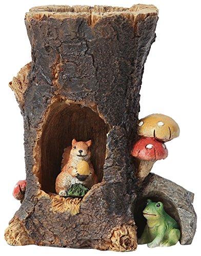 fairy log house - 6