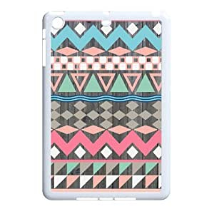 WJLCASE Design - 7WJL4336 Custom Vintage Wood Aztec Durable Hard Back Cover Case for Ipad Mini