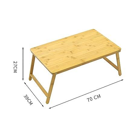 QSJY Folding table Mesa Plegable Mesa para computadora portátil ...
