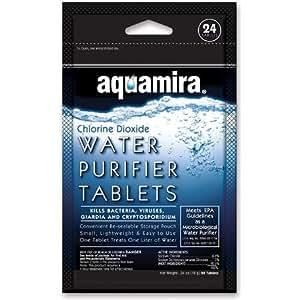 Aquamira Tabletas Cantidad 12