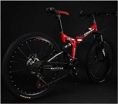 Link Co Bicicleta de montaña 26 * 17 Pulgadas una Rueda Plegable ...