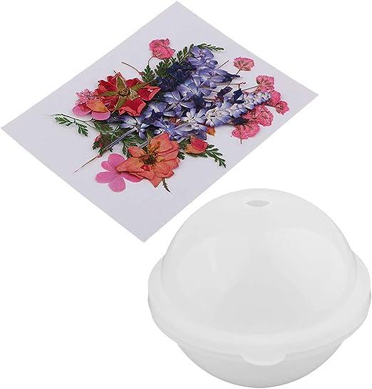 Prettyia 6 Set Silicone Mold for Resin Casting Epoxy DIY Soap,Candle,Coaster