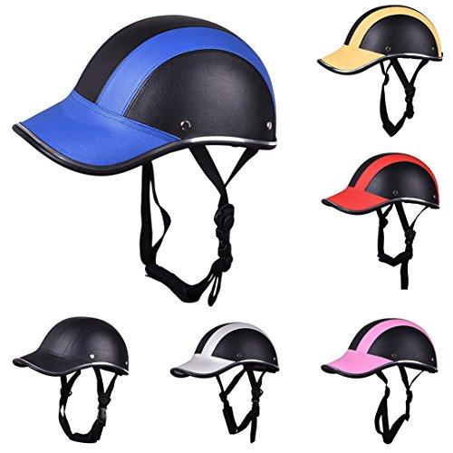 Manngsr Half Face Protective Helmets Unisex Male/Female Adult Motorcycle/Bicycle Helmet Silver (Novelty Helmet Hawk)