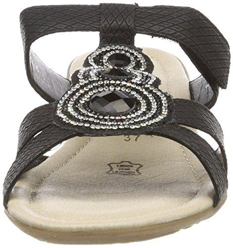 schwarz R3634 Noir Mules schwarz Femme Remonte w1B8q6A