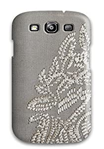 Awesome Design Attractive Warm Grey Large Hard Case Cover For Galaxy S3