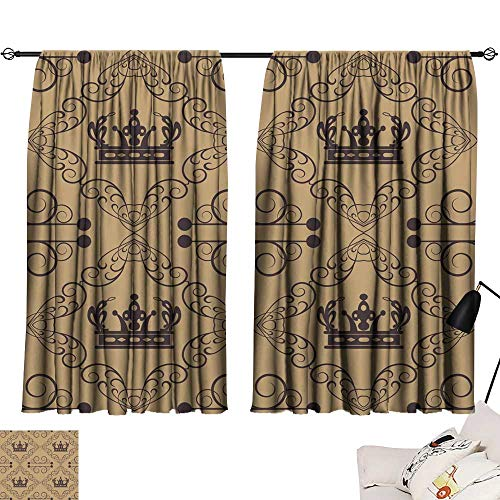 Damask Flush (SINXY&CASE Decor Curtains by Damask Decorative Wallpaper for Walls 72
