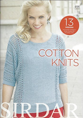 Sirdar Knitting Pattern Book 498 - Cotton Knits by Sirdar