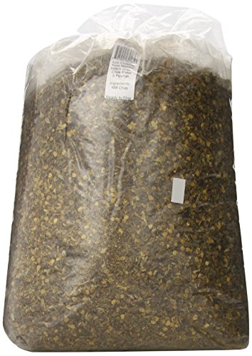 Los Chileros New Mexico Hatch Green Chile, Flake, 5 Pound ()