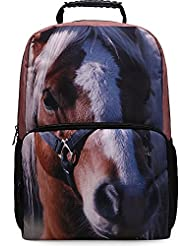 Skymoon Kids School Bag Childrens 17.5 Inch Animal Printing Laptop Backpack