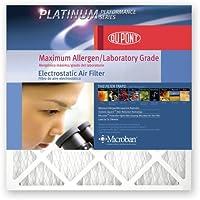 DuPont Platinum Max Allergen Air Filter, 20x30x1, MERV 12, 4-Pack